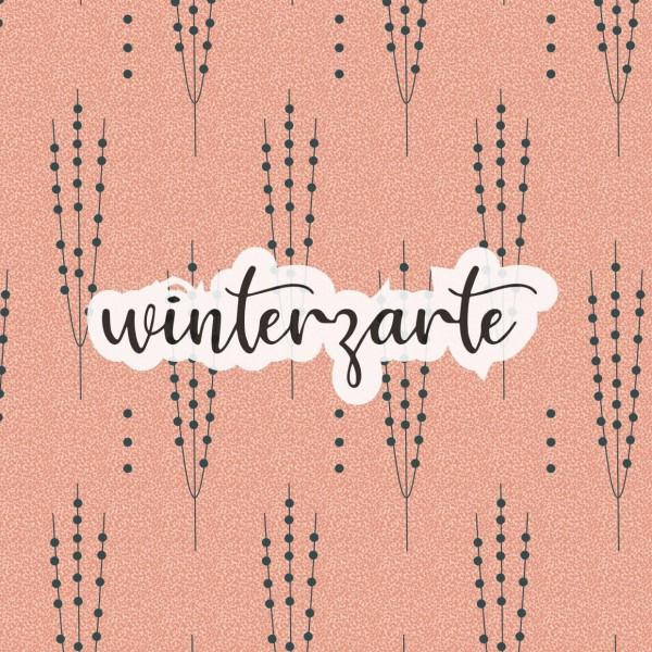 Stoffe/Designer/et voilà/Winterzarte, lachs dunkel Bild 1
