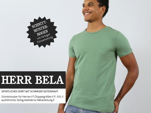 Schnittmuster/STUDIO SCHNITTREIF/Studio Schnittreif - Schnittmuster HerrBELA Sportliches T-Shirt Bild 1