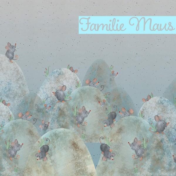 Fabrics/Designers/Tante Gisi/Familie Maus Bild 1