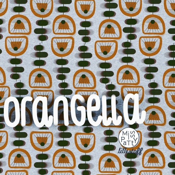 Fabrics/Designers/Miss Patty/Orangella meliert Bild 1