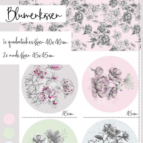 Fabrics/Designers/Tante Gisi/Blumenkissen Bild 1