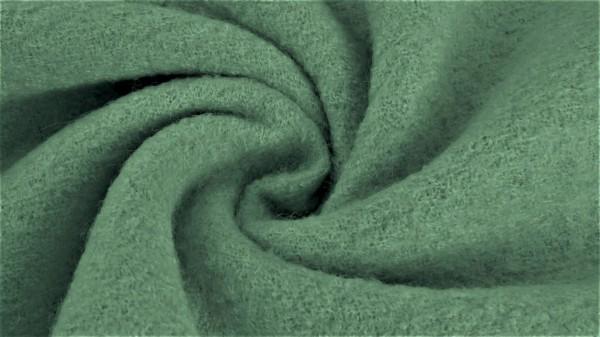 Stoffe/Basics/Walkloden, altgrün, dunkel Bild 1