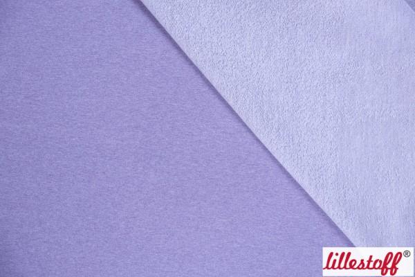 Fabrics/Basics/Solid Sweat/Sommersweat flieder-meliert Bild 1