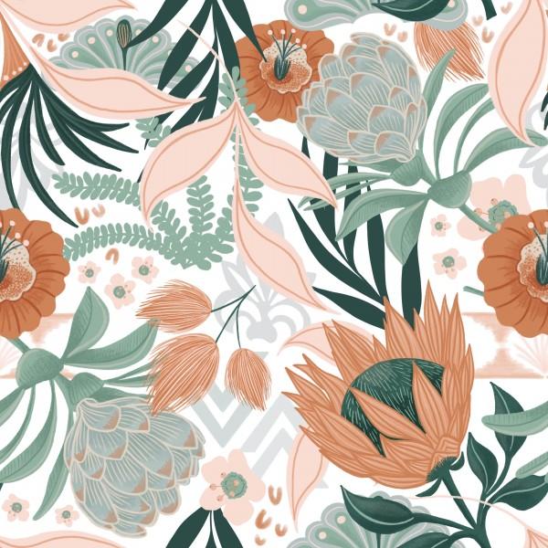Fabrics/Floral/Hawaiian Breeze Bild 1