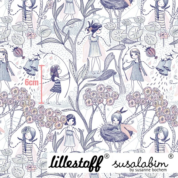 Fabrics/Designers/SUSAlabim/Blumenelfen Bild 1