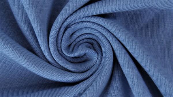 Fabrics/Basics/Solid Viscose Jersey/Viskose Jersey, jeansblau hell Bild 1