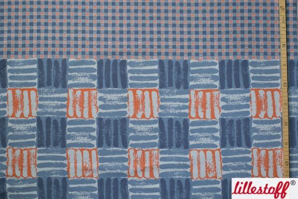 Sale/Discounted Products/Sweat Kariert graulila orange Bild 1