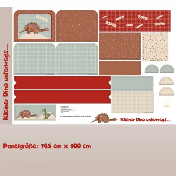 Stoffe/Designer/Tante Gisi/Kleiner Dino Unterwegs Rucksack Bild 1