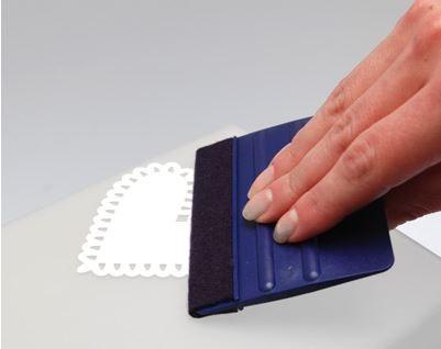 Notions/Rakel mit Filzkante - Plotterwerkzeug Bild 1