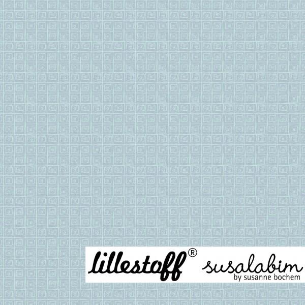 Fabrics/Designers/SUSAlabim/Susalabims Minikaros, blau Bild 1