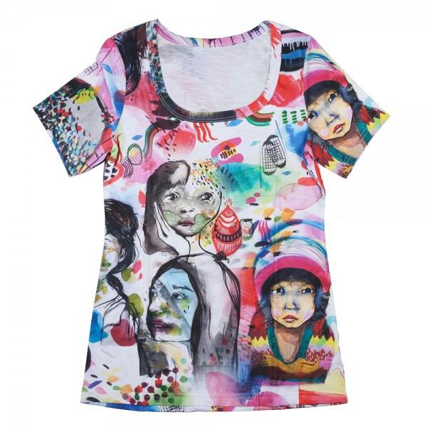 Stoffe/Designer/Sebastian Maria Otto/Tuella, Damen T-Shirt, Größe XL, Slubjersey Bild 1