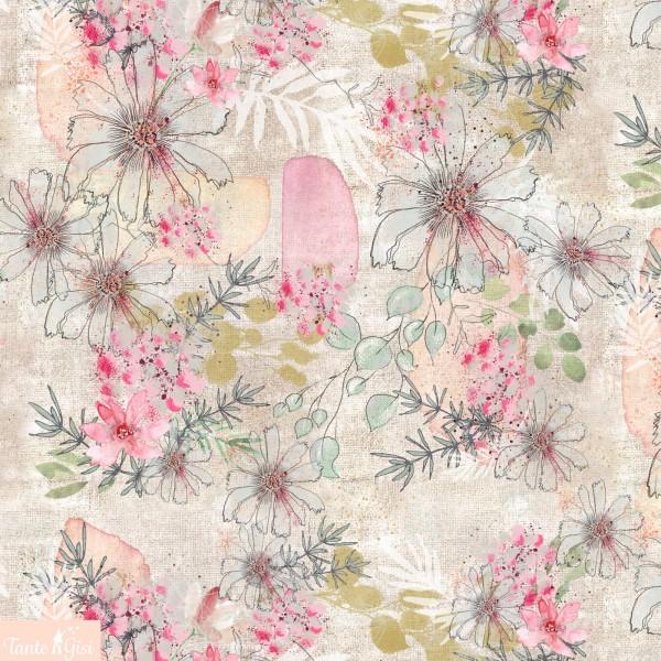Fabrics/Designers/Tante Gisi/Leinenbild Bild 1