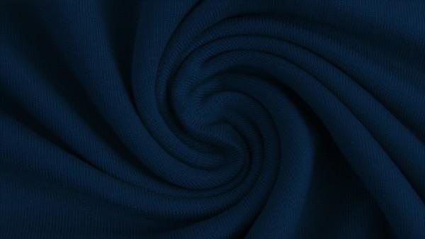 Fabrics/Basics/Solid Modal/Modalsweat, jeansblau dunkel Bild 1