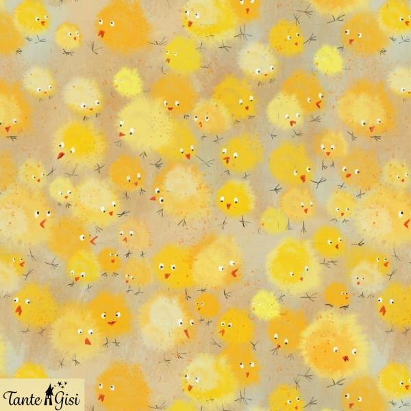Fabrics/Designers/Tante Gisi/Küken Bild 1
