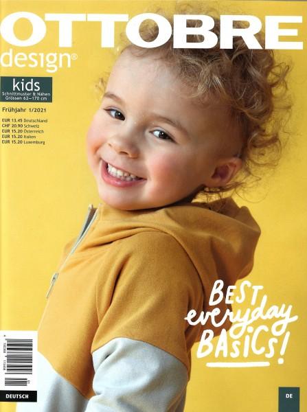 Schnittmuster/Bücher und Zeitschriften/01/2021 OTTOBRE design®, Kids Frühjahr Bild 1