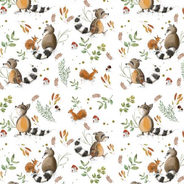 Fabrics/Designers/Tante Gisi/Fridolin Und Seine Freunde Bild 1