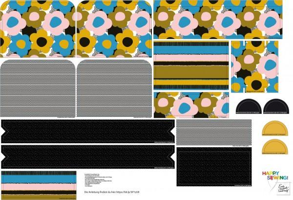 Stoffe/Designer/Enemenemeins/BIG-Flower Rucksack Bild 1