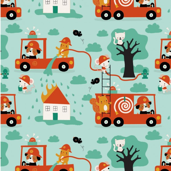 Fabrics/Designers/BORA/Fire in BORAland Bild 1