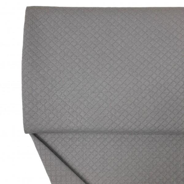 Stoffe/Basics/Stepper Uni/Leichter Baumwollstepper, grau Bild 1
