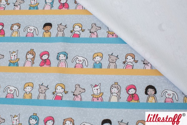 Fabrics/Designers/SUSAlabim/Girls And Friends blaupastell Bild 1