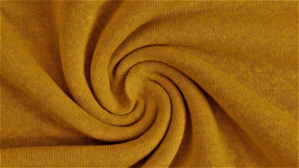 Fabrics/Basics/Solid Viscose Jersey/Jersey Leinen Viskose, gelb Bild 1