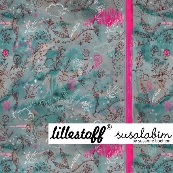 Fabrics/Designers/SUSAlabim/Aquarelldoodle Bild 1