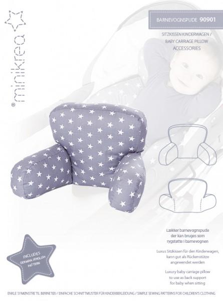 Pattern/MiniKrea/SM90901- Schnittmuster/Pattern Sitzkissen für Kinderwagen Bild 1