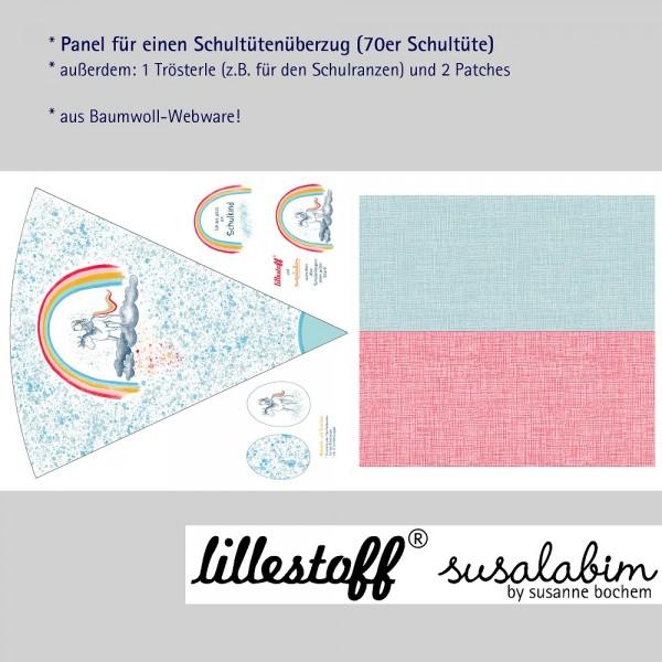 Fabrics/Designers/SUSAlabim/Schultütenset Einhornelfe Bild 1
