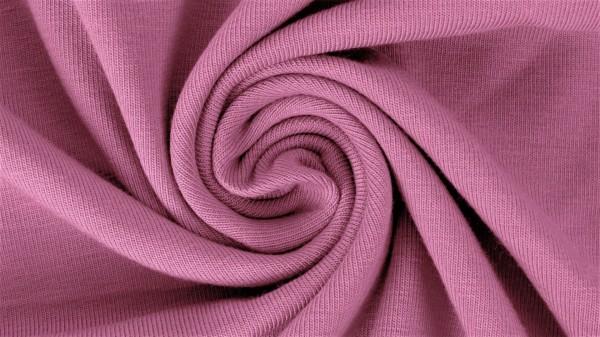 Stoffe/Basics/Sweat Uni/Summersweat, rosa Bild 1