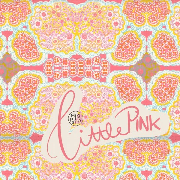 Fabrics/Designers/Miss Patty/Little Pink Bild 1