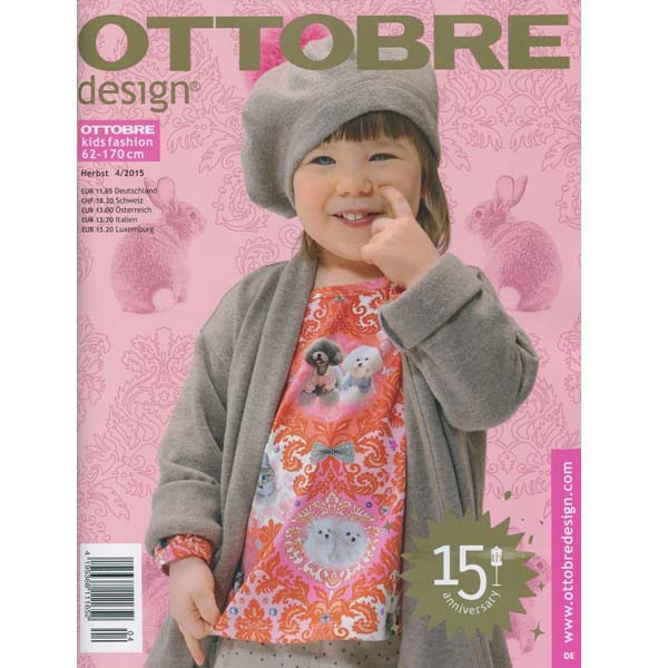 Schnittmuster/Bücher und Zeitschriften/Ottobre design, Kids 04/2015 Bild 1