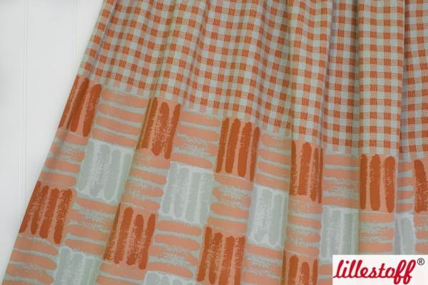 Sale/Discounted Products/Sweat Kariert grün orange Bild 1