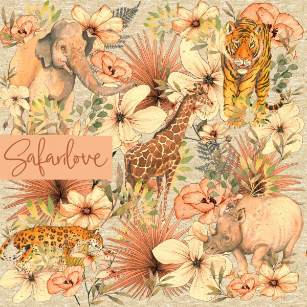 Stoffe/Designer/Tante Gisi/Safari Love Bild 1