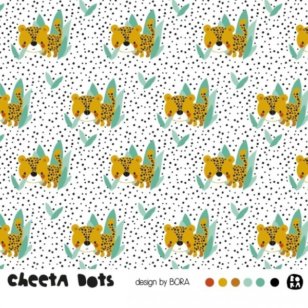 Fabrics/Designers/BORA/Cheeta Dots Bild 1