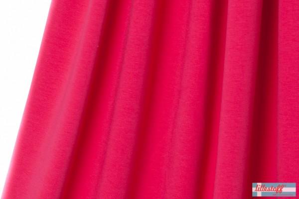 Fabrics/Basics/Solid Sweat/Summersweat, himbeer NEU Bild 1