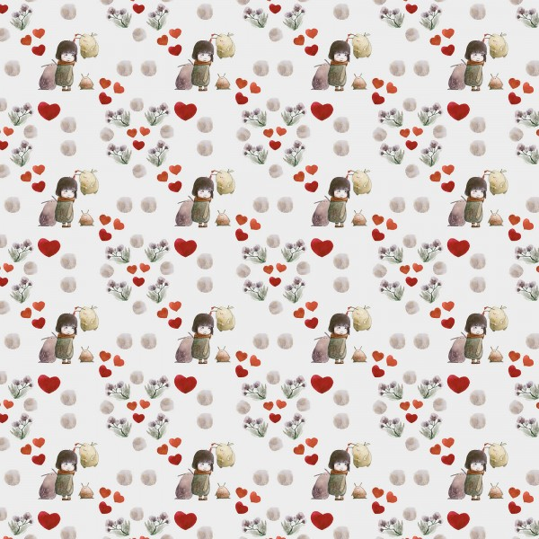Stoffe/Tiere/My Heart Bild 1