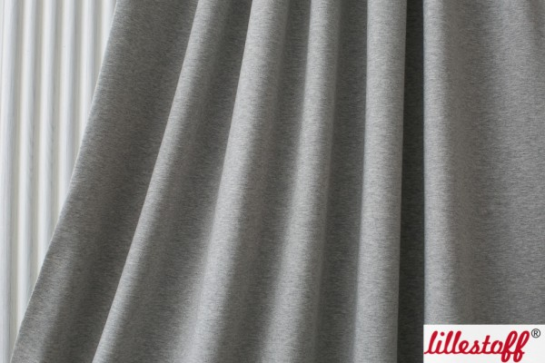 Fabrics/Basics/Solid Jersey/Uni Jersey, grau-meliert Bild 1