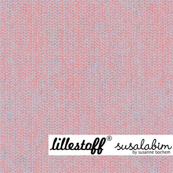 Fabrics/Designers/SUSAlabim/graurot, Susalabims Shabbystrick Bild 1