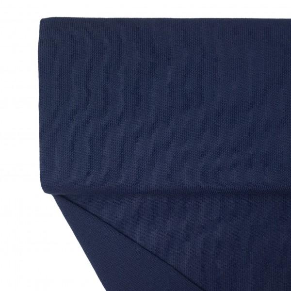 Fabrics/Basics/Solid Knit/Baumwollstrick, marine Bild 1