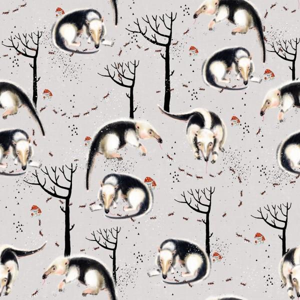 Fabrics/Designers/Tante Gisi/Bertram, Der Ameisenbär Bild 1