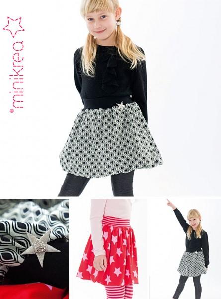 Schnittmuster/MiniKrea/SM30103- Schnittmuster/Pattern Ballonrock/Balloon Skirt Bild 1