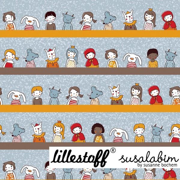Fabrics/Designers/SUSAlabim/Girls And Friends buntpastell Bild 1