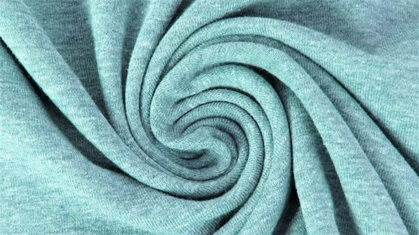 Fabrics/Basics/Solid Jersey/Uni Jersey, minze-meliert Bild 1