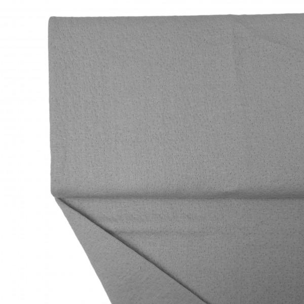 Fabrics/Basics/Solid Jacquard/Jacquard Double Face, grau Bild 1