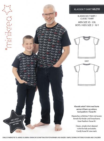 Pattern/MiniKrea/SM66210- Schnittmuster/Pattern Klassisches T-Shirt Bild 1