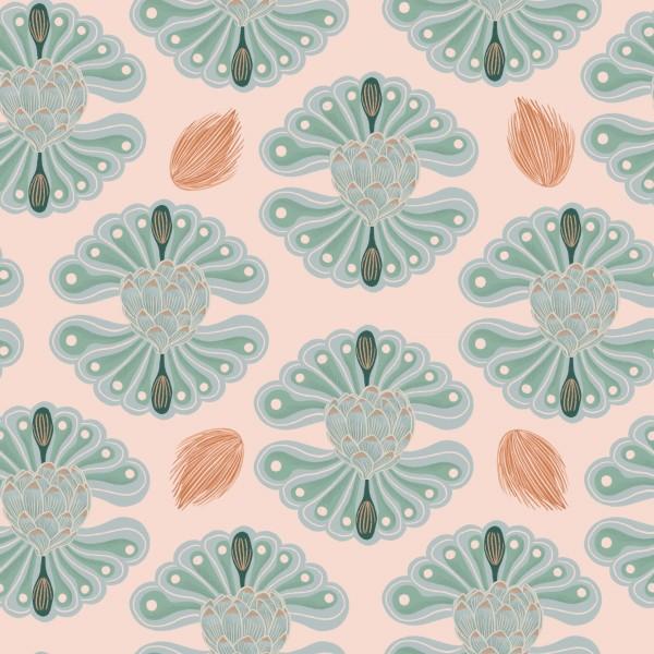Fabrics/Floral/Hawaiian Breeze Flower, rosa Bild 1
