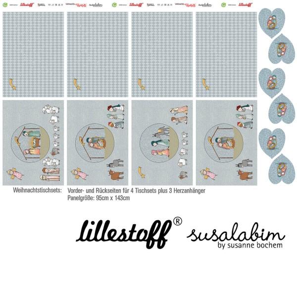 Fabrics/DIY-kits/Others/Weihnachtstischset, Webware Bild 1