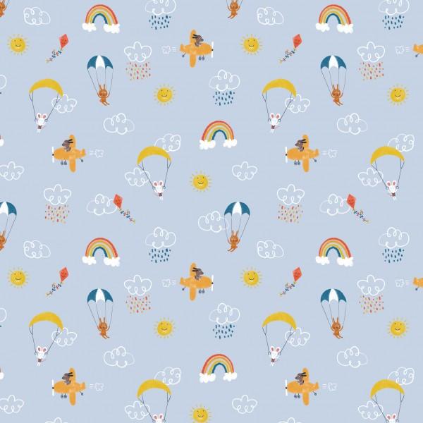 Fabrics/Animals/High In The Sky Bild 1