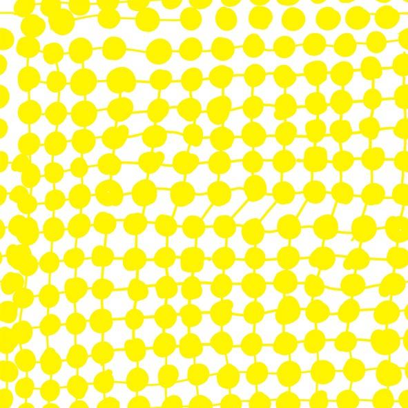 Stoffe/Grafisch/Crazy Dots, yellow Bild 1