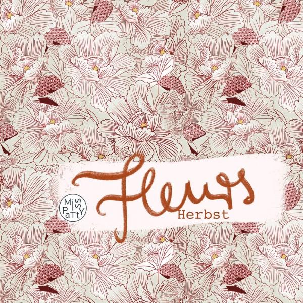 Stoffe/Designer/Miss Patty/Fleurs Herbst Bild 1